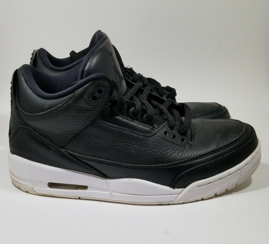 2016 Nike Air Jordan 3 III Retro Cyber Monday Black White 136064-020 Sz 8.5