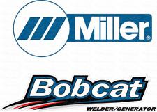 Custom Miller Welder Bobcat Decal Sticker Set Of 4 Decals