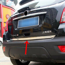 FIT FOR BUICK ENCORE REAR TRUNK TAILGATE TRIM HATCH CHROME BACK DOOR LID COVER