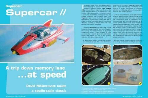 Special Thunderbirds UFO Supercar SciFi /& Fantasy Modelling The 21st Century
