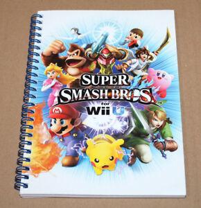Super-Smash-Bros-rare-promo-Booklet-Notepad-Notebook-Nintendo-2014-Wii-U