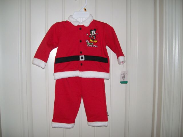 6 mo NWT Carters Just One You 2 Piece Infant Girl Christmas Santa Red Set 3 mo