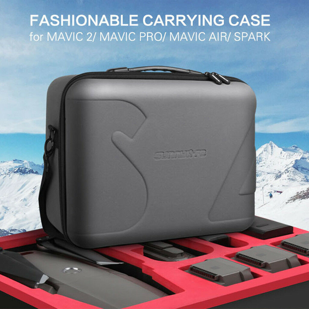 Hard Waterproof Carrying Case Cover Borsa Box for DJI MAVIC 2/ PRO/ AIR / Spark