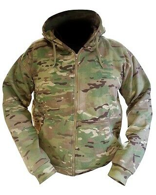 Multicam / MTP Match Zipped Camo Hoodie All Sizes Military / Carp Fishing ( New