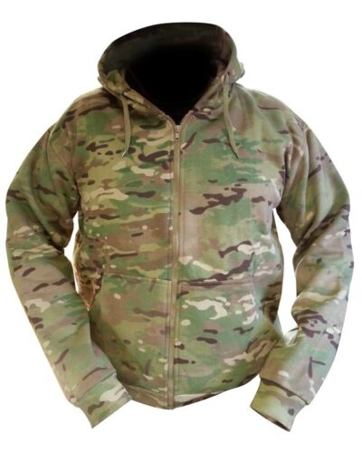 Multicam New MTP Match Zipped Camo Hoodie All Sizes Military Carp Fishing