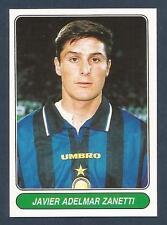 PANINI EUROPEAN FOOTBALL STARS 1997- #087-INTER MILAN & ARGENTINA-JAVIER ZANETTI