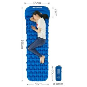 Naturehike-Outdoor-Inflatable-Cushion-Sleeping-Bag-Moistureproof-Mat-With-Pillow