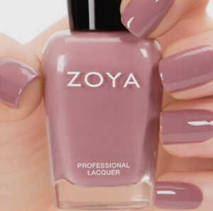 ZOYA ZP707 BRIGITTE mauve cream nail polish lacquer~ NATUREL Nude ...