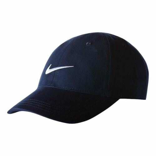 Black Gray Blue White Baseball Hat Size 4-7 Cotton Nike Boys Little Kids Cap