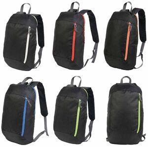 1aa8e0f817 Caricamento dell'immagine in corso Zaino-zainetto-borsa-nero-nylon-600D-con- particolari-