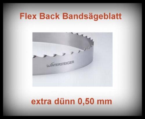 Flex Back Scheppach HBS 300 Sägeband 2240x16x0,50mm Bandsägeblatt extra dünn