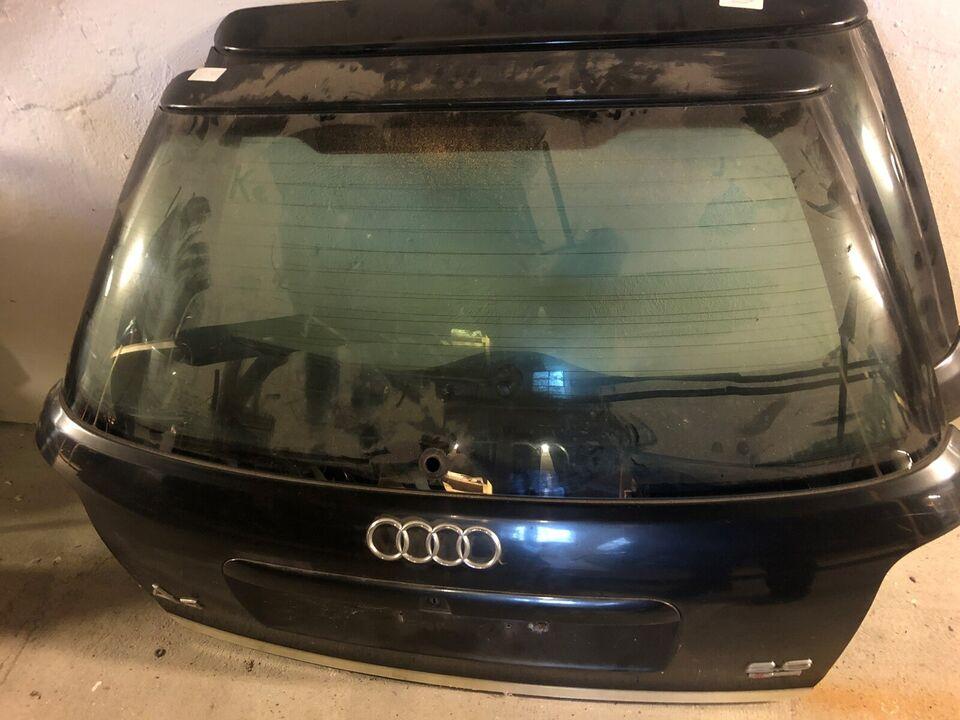 Plade- og karosseridele, Bagklap, Audi
