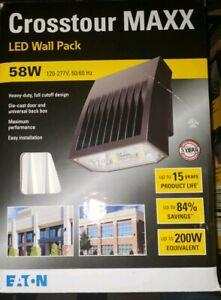 Eaton Lumark Crosstour 58w Led Light Xtor6b Wt Wall Pack