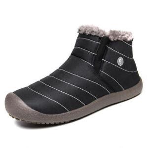 nuevo-para-hombre-invierno-nieve-botines-zapatillas-zapatos-ocasionales-caliente
