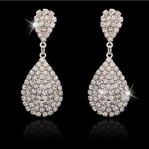 Orecchini-pendenti-da-donna-in-argento-cristallo-vintage-con-gocce-d-039-acqua-B0IT