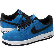 NEW NIKE CLASSIC AIR FORCE 1 SHOES 488298 424 MILITARY BLUE MEN'S 16  ANB