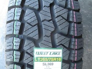 4 New Lt 265 75r16 Westlake Sl369 Tires 75 16 R16 2657516 At All