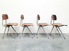 4 ORIGINAL INDUSTRIAL FRISO KRAMER CHAIRS AHREND LIKE JEAN PROUVE