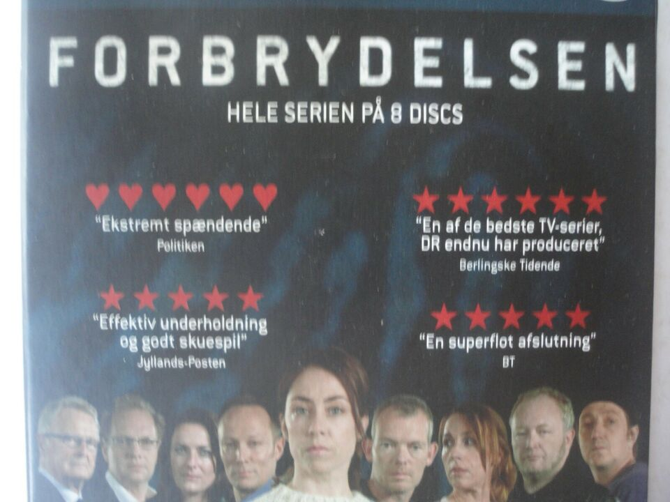 FORBRYDELSEN, DVD, krimi