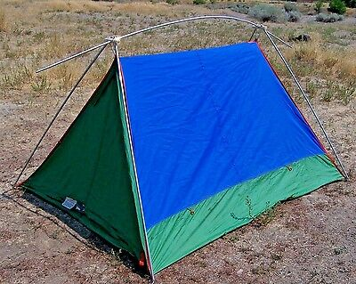Vintage Eureka Timberline 2 A-Frame Tent ~ 5u0027 x 7u0027 ~ Bright & Tents collection on eBay!