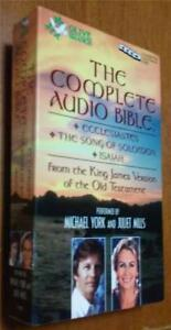 Details about The Complete Audio Bible-KJV - Ecclesiastes, Song of Solomon,  Isaiah - Audiobook