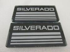 2 Line Cab Silverado Emblems Badges Side Roof Pillar Decals Plate