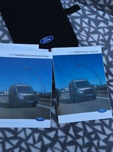 Ford Transit Owners Handbook//Manual and Wallet 13-18