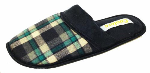 Coolers homme Deux-partie Cordon Rib Fleece Design Mule Pantoufles