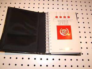 Cadillac-1992-Seville-owners-1-Manuel-amp-warranty-1-Booklet-with-BLACK-OEM-1-Case
