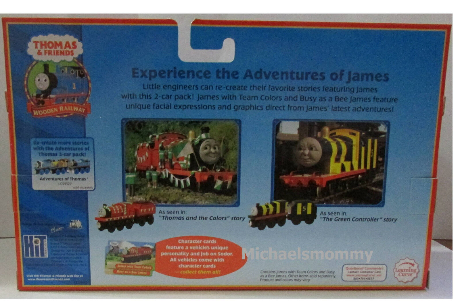 THOMAS THE TANK & FRIENDS-ADVENTURES OF JAMES 2006 2006 2006 W 2 COLLECTOR CARDS NIB 6f788b