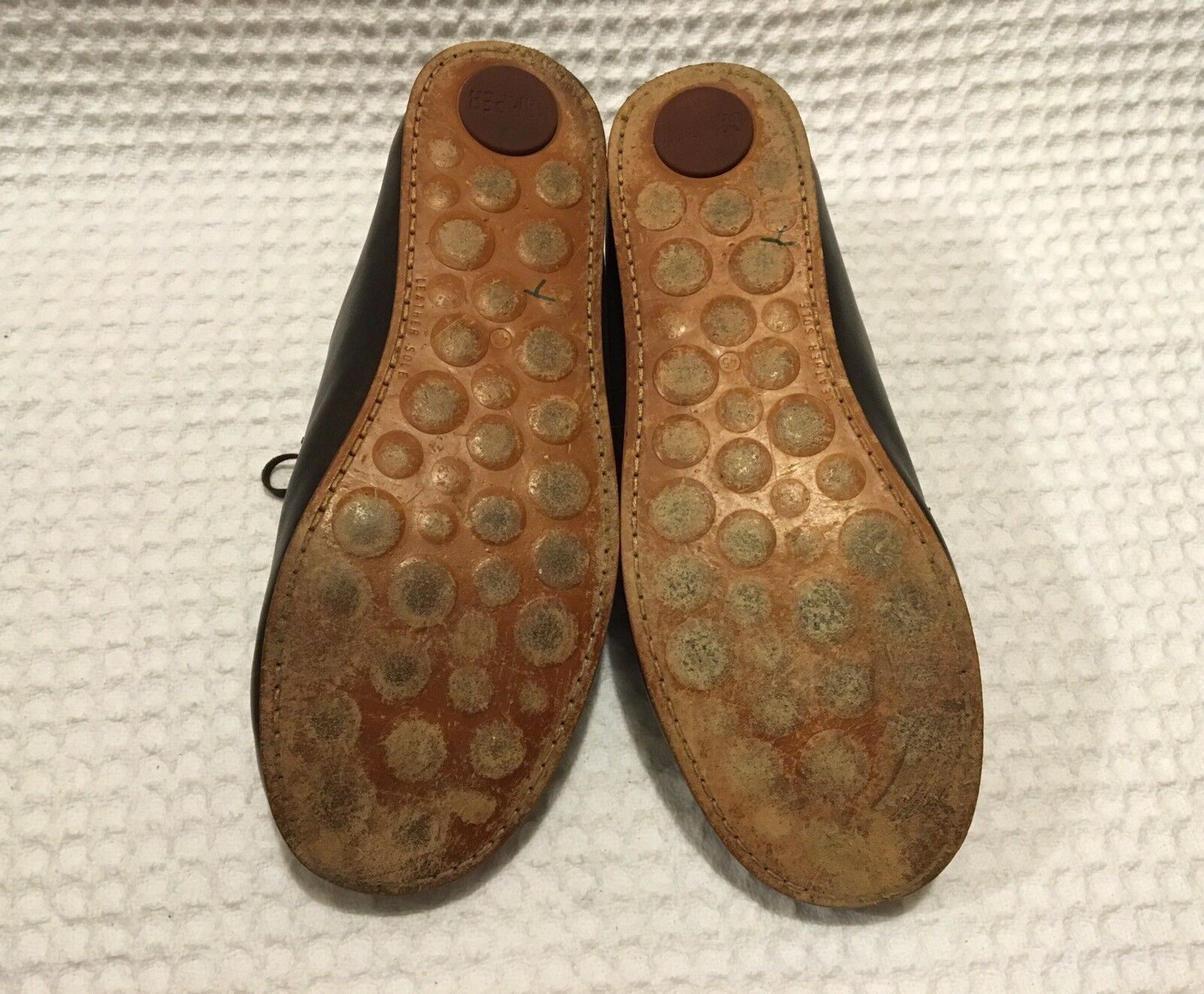 CAMPER 250 Gr Lace-up Leather Oxfords Bowling Bowling Bowling Casual shoes  290 Brown 45   12 734b39