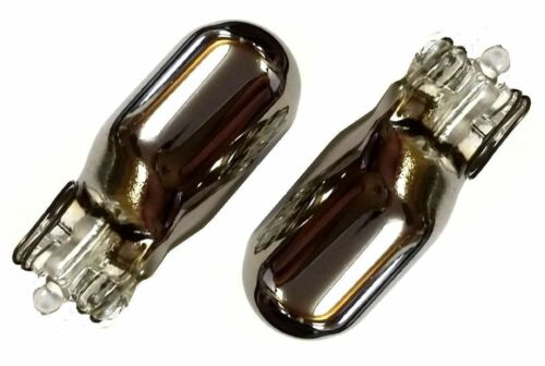 JAGUAR//DAIMLER S-Type 99 Chrome//Silver Indicator Bulbs 501 flash Amber orange R
