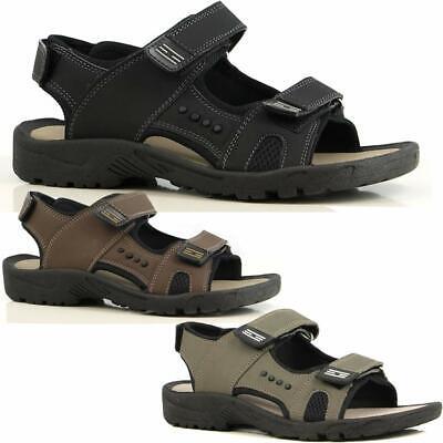 RüCksichtsvoll Mens Summer Sandals New Walking Hiking Trekking Sports Sandals Beach Shoes Size