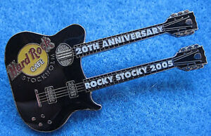 Stockholm-20-Anniversaire-Harley-Bateau-Voyage-Rocky-Trapu-Guitare-Hard-Cafe-Pin