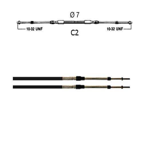 2.44 M CABLE DE COMMANDE TYPE C2 ULTRAFLEX 08/'