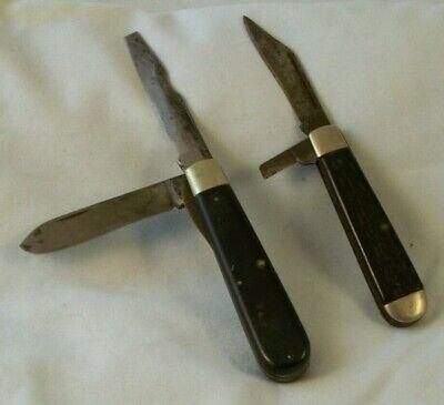 2 Vtg Camco Usa Lineman Knife Or Electrician Pocket Knives 2 Blades Camillus Ny Ebay