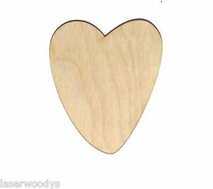 Emma-Heart-Unfinished-Flat-Wood-Shape-Cut-Out-Variety-Szs-EH8215-Crafts