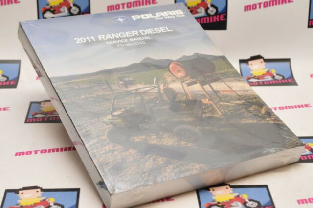 New Genuine Polaris Factory Service Shop Manual 2011