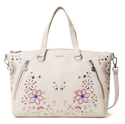 various styles entire collection get cheap Desigual Bols Apolo Piadena Crudo , Women's Handbag Strap ...