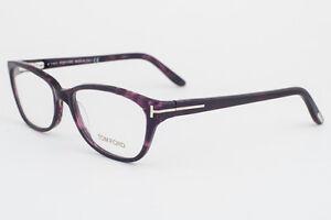 4c0b0f2109 Image is loading Tom-Ford-5142-083-Purple-Tortoise-Eyeglasses-TF5142-