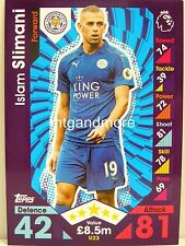 Match Attax 2016/17 Premier League -  U23 Islam Slimani - Update