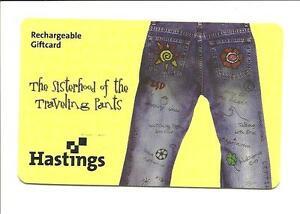 Hastings The Sisterhood of the Traveling Pants Gift Card No ...