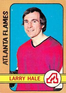 1972-73-O-Pee-Chee-53-Larry-Hale-RC-Rookie-Atlanta-Flames