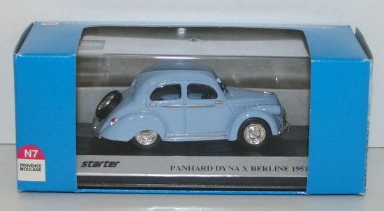 PROVENCE MOULAGE 1 43 N023 - PANHARD DYNA X BERLINE - Blau