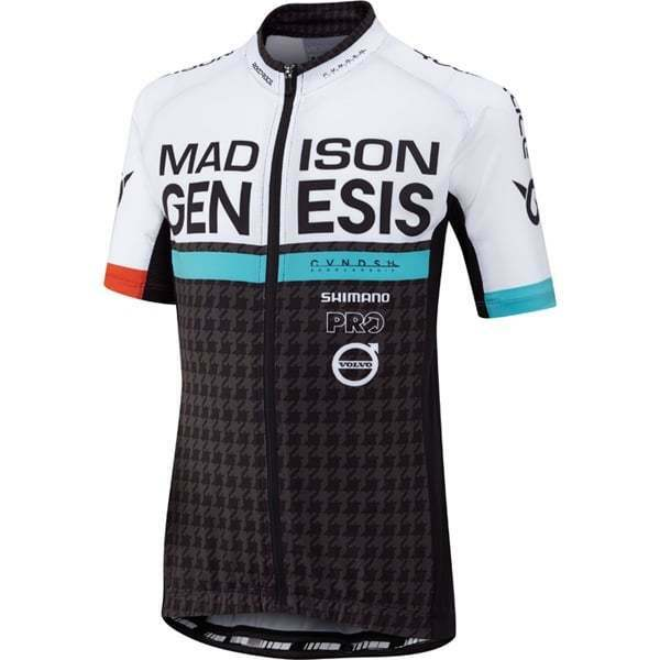 Madison Sportive Youth Junior Kids Short Sleeve Cycle Cycling Jersey