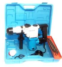 1 Electric Rotary Hammer Drill With Sds Plus Drill Bits Punch Chisel Power Tool
