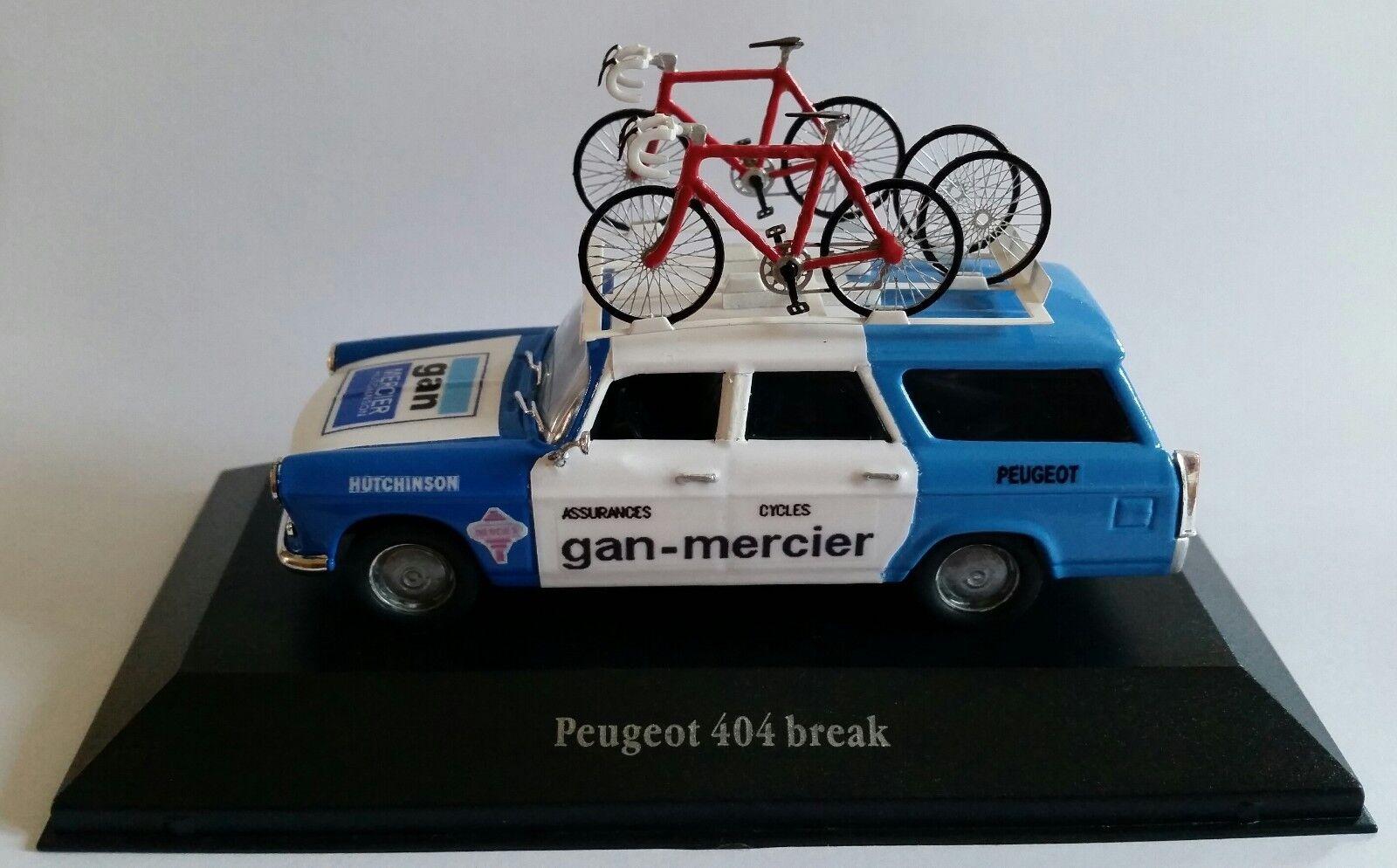 Peugeot 404 break  1964 - TDF  Assistance GAN MERCIER - 1 43