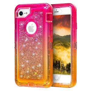 Iphone 6 6s Glitter Liquid Case