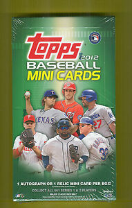 2012-Topps-Baseball-Mini-Sealed-Box-No-Hobby-Made-TOPPS-SOLD-OUT-A-SLEEPER-BUY