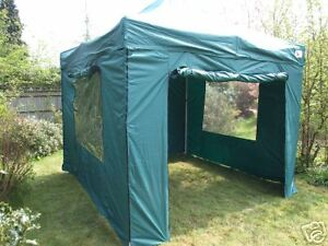 Image Is Loading 3m X POP UP AWNING GAZEBO GREEN